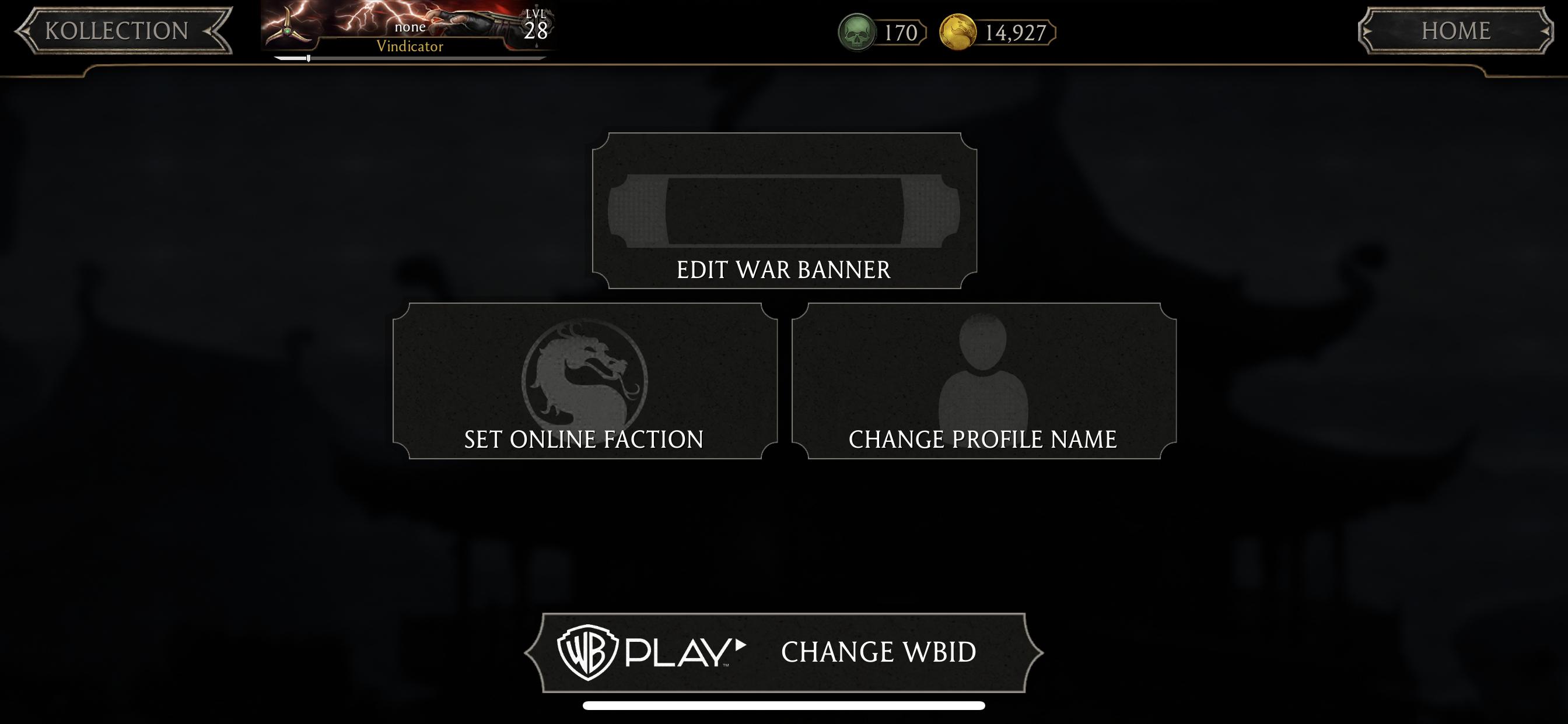 How do I change my Profile name in MK Mobile? – Mortal Kombat Games